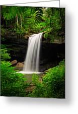 Cucumber Falls Greeting Card