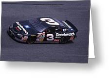 Dale Earnhardt # 3 Goodwrench Chevrolet At Daytona Greeting Card