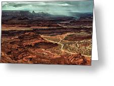 Dead Horse Canyon Greeting Card