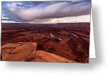 Dead Horse Point Greeting Card
