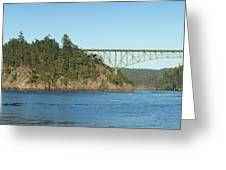 Deception Pass Greeting Card