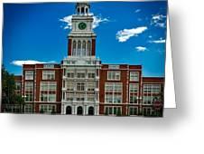 Denver's East High School Greeting Card