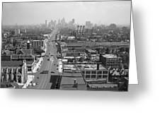 Detroit 1942 Greeting Card