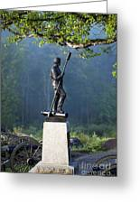 Devil's Den Monument At Gettysburg Greeting Card