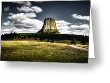 Devil's Tower - Wyoming Greeting Card