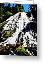 Diamond Creek Falls Greeting Card