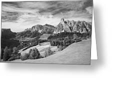 Dolomiti, Landscape Greeting Card