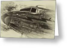 Douglas Dc-3 Greeting Card