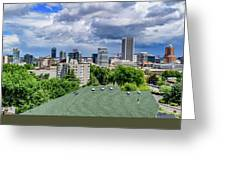Downtown Portland Greeting Card