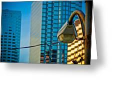 Downtown Tampa Florida Greeting Card