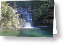 Dripping Springs Falls Greeting Card