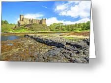 Dunvegan Castle Landscape Greeting Card
