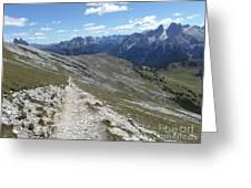 Durrenstein, Dolomites, Italy Greeting Card