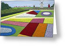 Dutch Gardens Greeting Card