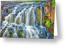 Early Morning At The Upper Falls Greeting Card