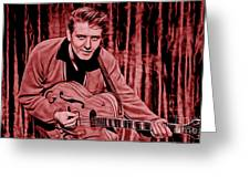 Eddie Cochran Collection Greeting Card