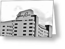 Eden Roc Hotel Greeting Card