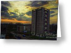 Edmunds Tower Greeting Card