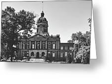 Elkhart County Courthouse - Goshen, Indiana Greeting Card