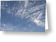 Evening Summer Sky Greeting Card