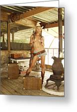 Everglades Cowgirl Greeting Card