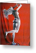 Evolution Of Eve Figure 2 Greeting Card by Greg Coffelt
