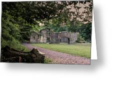 Fairafar Mill, Cramond, Edinburgh Greeting Card