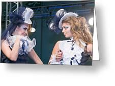 Fashion Show Catwalk Greeting Card