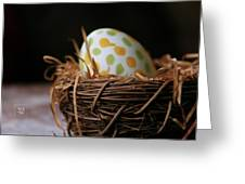 Fashionable Egg Greeting Card