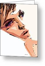Female Expressions Xii Greeting Card