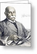 Ferdinand Von Zeppelin Greeting Card