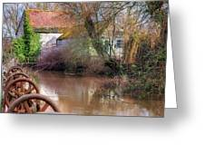 Fiddleford Mill - England Greeting Card