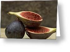 Figs Greeting Card by Bernard Jaubert