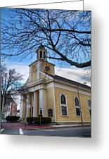 First Parish Church Beverly Ma Greeting Card