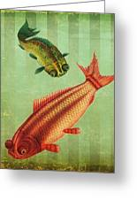 2 Fish Greeting Card