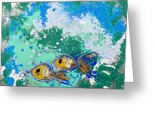 2 Fish Greeting Card