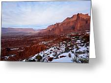 Fisher Towers Greeting Card by Kate Avery
