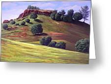 Flowering Meadow Greeting Card