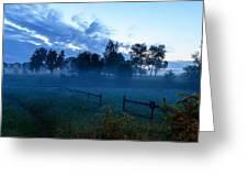 Fog Greeting Card