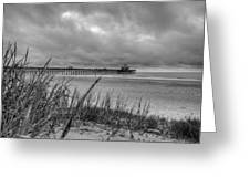 Folly Beach Pier Greeting Card