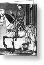 Francis I (1494-1547) Greeting Card