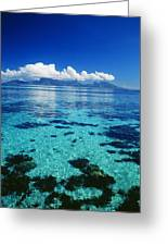 French Polynesia, Moorea Greeting Card