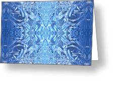 Frost Feathers Greeting Card