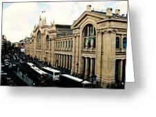 Gare Du Nord Greeting Card by Diana Moya
