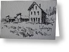Garnet Ghost Town Montana Greeting Card