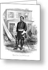 General George Mcclellan Greeting Card