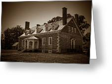 George Mason's Gunston Hall Greeting Card
