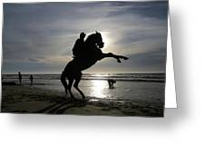 Horseback Riding Greeting Card