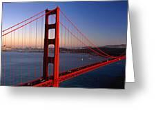 Golden Gate Bridge San Francisco Ca Greeting Card