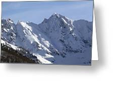 Gore Mountain Range Colorado Greeting Card